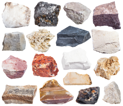 Learning resource of From Minerals Big Rocks Grow