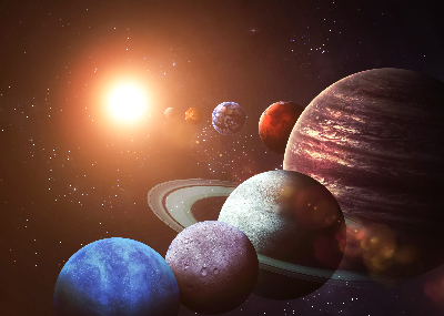 Learning resource of Modelling the Solar System