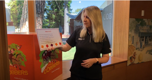 Audio and video of Little Learners | Lizard | Queensland Museum Network