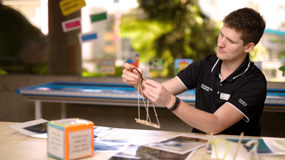 Learning resource of SparkLab: Design Process – Queensland Museum