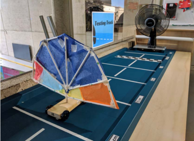 Learning resource of Maker Space: Land Sailing Rovers