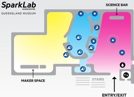 Other of SparkLab Sensory Friendly Map