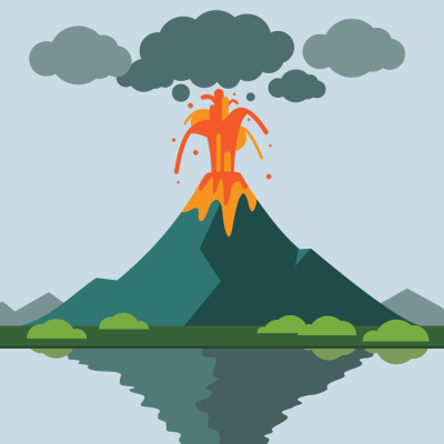 Learning resource of Volatile Volcanoes