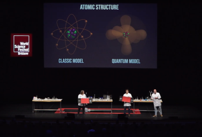 Audio and video of World Science Festival Brisbane | Education Program | Science of Change, Life and Explosions